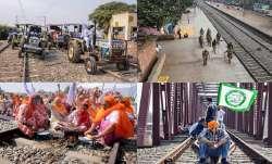 Rail Roko Andolan live updates farmer protest lakhimpur kheri case ajay mishra latest news Rail Roko- India TV Paisa