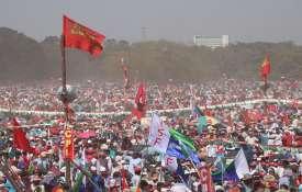 West bengal elections nandigram seat mamata banerjee suvendu adhikari left candidate नंदीग्राम में ह- India TV Hindi