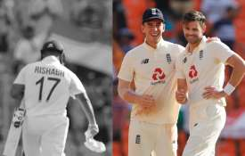 Rishabh Pant vs James Anderson Contest In 4th Test India vs England - India TV Hindi