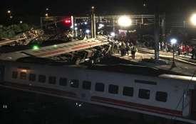 पूर्वी ताइवान में ट्रेन हादसे में 36 लोगों की मौत, 72 घायल- India TV Hindi