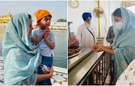 kangana ranaut visit golden temple first time with family says speechless and stunned - India TV Hindi