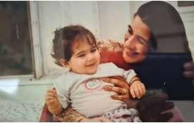 saif ali khan sister saba ali khan shares childhood picture of sara ali khan with amrita singh - India TV Hindi