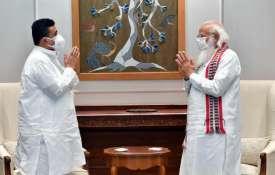 BJP leader Suvendu Adhikari meets PM Modi- India TV Hindi