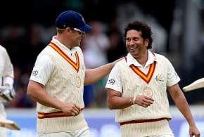 Sachin Tendulkar, Aaron Finch, Lords, MCC, Rest of the World, Marylebone Cricket Club, Shane Warne, - India TV Hindi