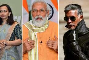 Fit India: इंडिया को फिट बनाने के लिए पीएम मोदी करेंगे संवाद, मिलिंद सोमन और रुजुता दिवेकर भी होंगे - India TV Hindi