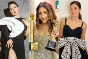 Hina Khan, Surbhi and Gauhar Khan- India TV Hindi