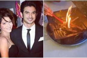 ankita lokhande havan for sushant singh rajput on his first death anniversary - India TV Hindi
