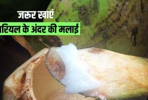 Nariyal ki malai ke fayade- India TV Hindi