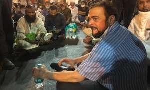 मुंबई: थाने पर अबू आज़मी के प्रदर्शन के बाद महिला इंस्पेक्टर का ट्रांसफर, बीजेपी ने लगाए गंभीर आरोप
