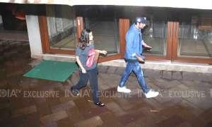 संजय दत्त से मिलने उनके घर पहुंचे रणबीर कपूर और आलिया भट्ट, देखिए तस्वीरें