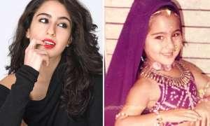 बर्थडे स्पेशल: सारा अली खान की बचपन की फोटोज देखते ही कहेंगे आप 'Cute'