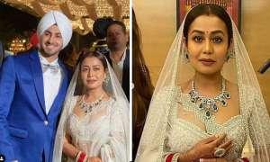 वेडिंग रिसेप्शन पार्टी में पति रोहनप्रीत सिंह के साथ बेहद खूबसूरत दिखीं नेहा कक्कड़, व्हाइट लहंगा में दिखीं स्टनिंग