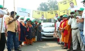 दिल्ली सरकार ने 70 विधानसभा क्षेत्रों में 'रेड लाइट ऑन, गाड़ी ऑफ' अभियान की शुरुआत की