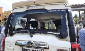 पश्चिम बंगाल: विदेश राज्यमंत्री वी मुरलीधरन के काफिले पर हमला, तोड़ दी गाड़ी, TMC कार्यकर्ताओं पर आरोप