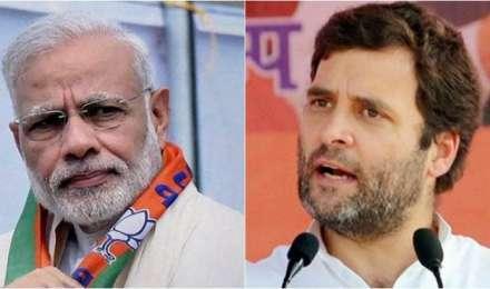 Gujrat Election 2017 results: गुजरात में बीजेपी को स्पष्ट बहुमत, कांग्रेस ने दी कड़ी टक्कर