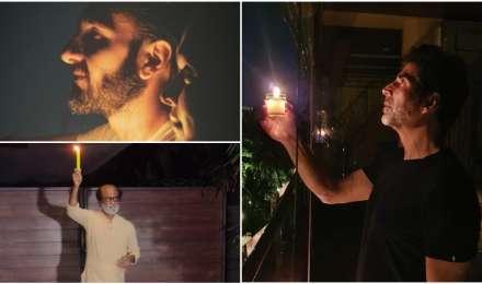 Photos: अक्षय कुमार से दीपिका-रणवीर तक बॉलीवुड सितारों ने इस तरह जलाए दीये