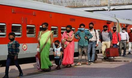 3060 श्रमिक ट्रेनों में 40 लाख से ज्यादा यात्रियों ने किया सफर, उत्तर प्रदेश पहुंचीं सबसे ज्यादा ट्रेनें