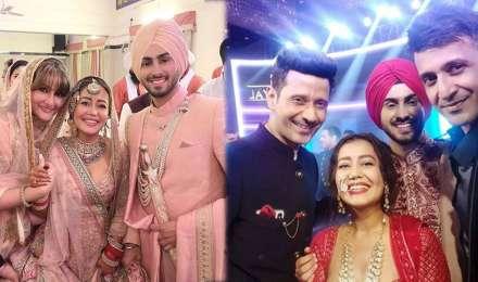 इन सेलेब्स ने नेहा कक्कड़ और रोहनप्रीत सिंह को दी शादी की बधाई, शेयर की अनदेखी फोटो
