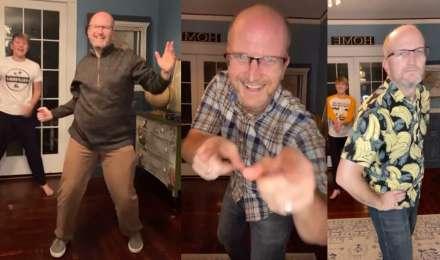 Viral : इंडिया के गानों पर फिर नाचे अमेरिका वाले मशहूर बाप बेटे, Video देखकर आप भी थिरक उठेंगे