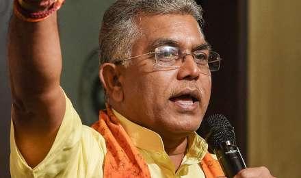TMC कार्यकर्ता बंगाल में राज्य प्रायोजित हिंसा कर रहे-दिलीप घोष ने की भबानीपुर उपचुनाव रद्द करने की मांग