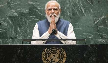 'चाय विक्रेता से PM बनने तक', मोदी ने UNGA में दुनिया को बताई भारतीय लोकतंत्र की ताकत