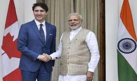 पीएम मोदी ने संसदीय चुनावों में जीत के लिए कनाडा के प्रधानमंत्री जस्टिन ट्रूडो को बधाई दी