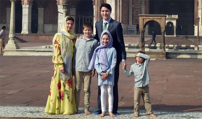 Canada PM Justin Trudeau with Family | PTI Photo