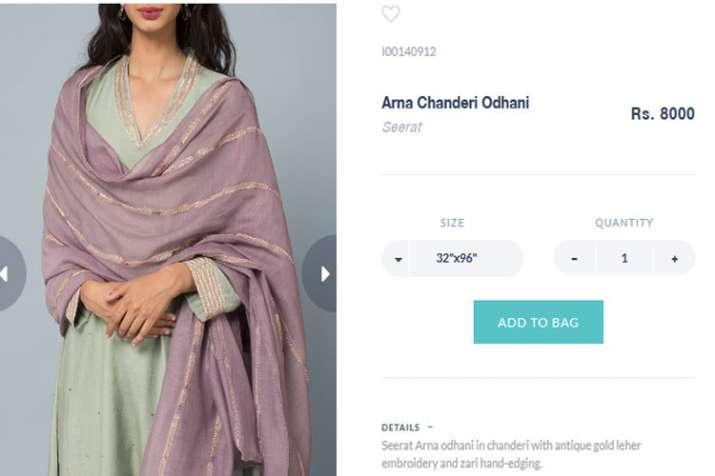 Arna Chanderi Odhani