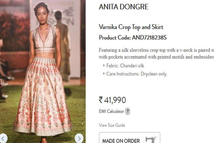 Anita dongre design dress
