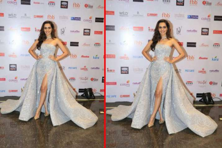 manushi chhiller at femina miss india 2018