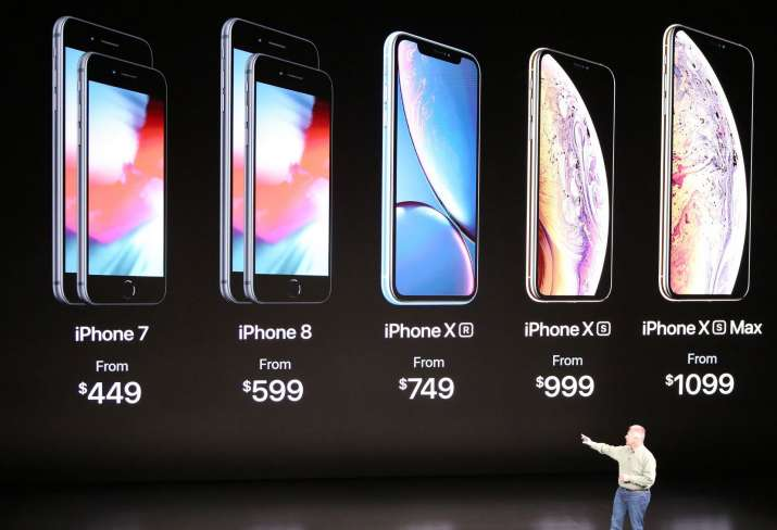 Apple iPhone Xs, Xs Max and XR Price
