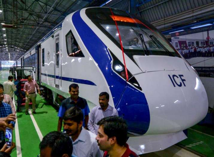 Train 18: Country's first engine-less train rolled out; Train 20 next