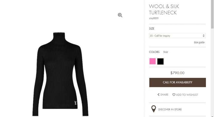 Wool & Silk Turtleneck