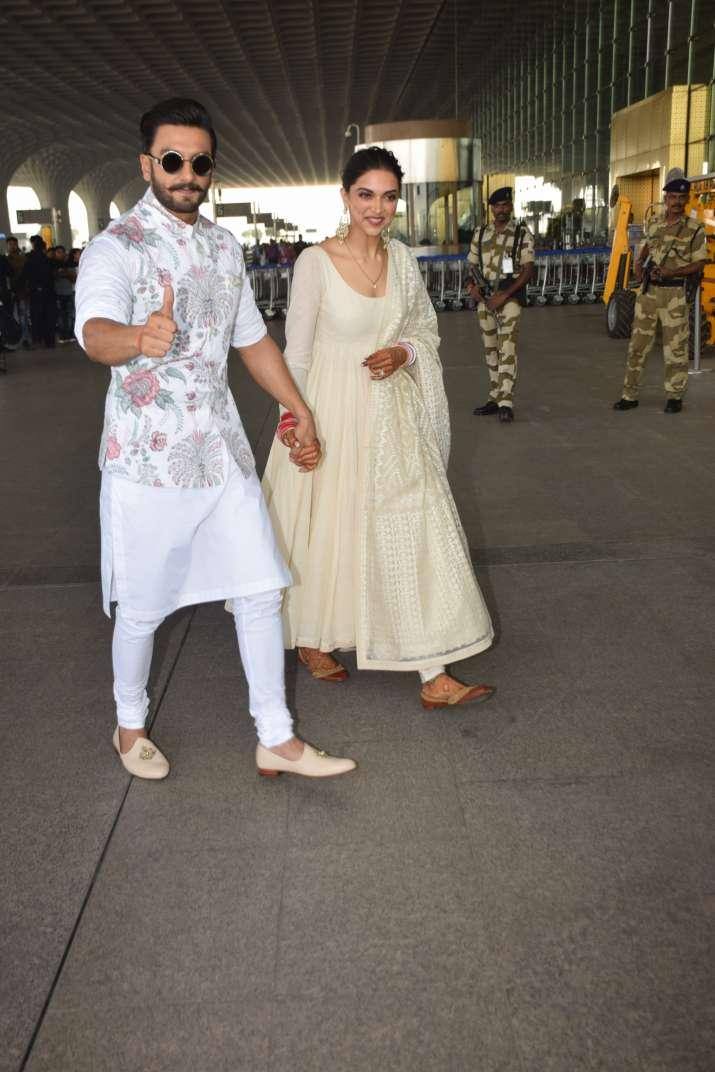 Deepika Padukone Ranveer Singh Reception