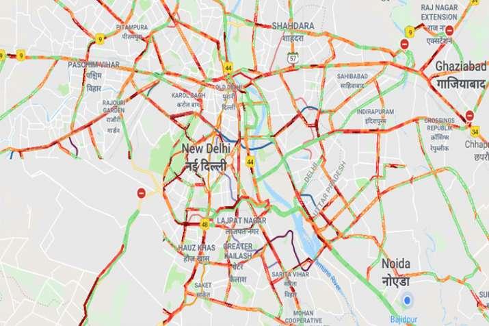 Delhi Traffic @ 6 PM