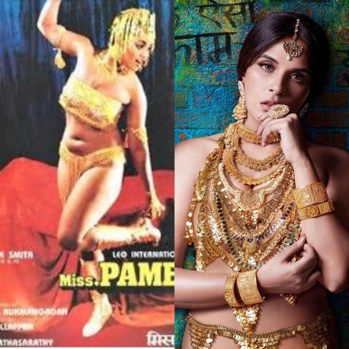Silk Smitha in Ms Pamela poster, Richa Chadha in Shakeela poster