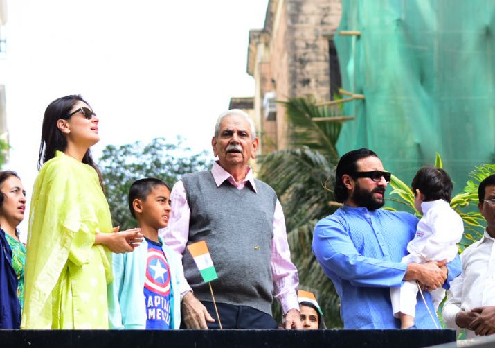 Kareena Kapoor Khan Saif Ali Khan Taimur Ali Khan celebrate Republic Day 2019