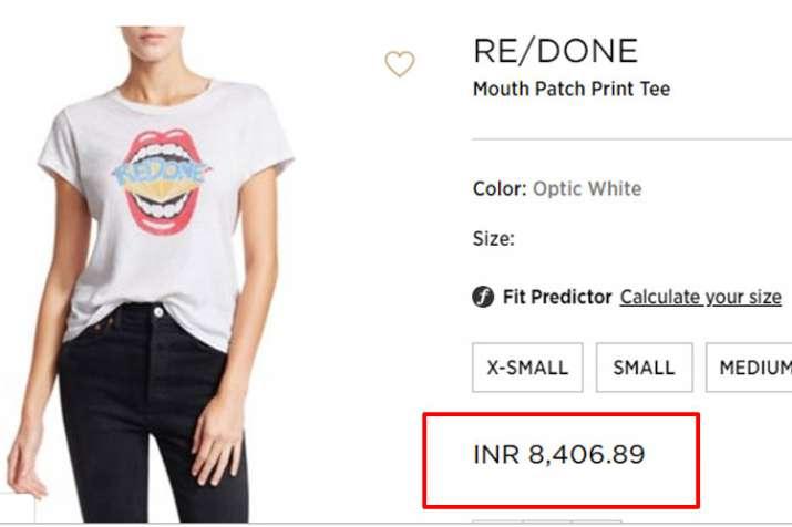 Redone Print T shirt