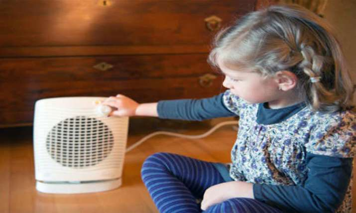Using heater can harm children