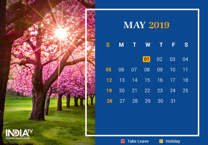 May long weekend 2019