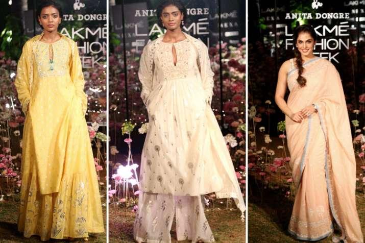 lakme fashion week 2019 anita dongre