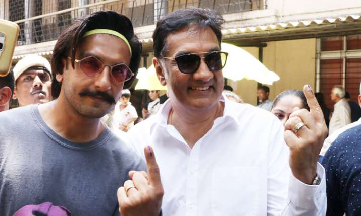 Ranveer Singh with father
