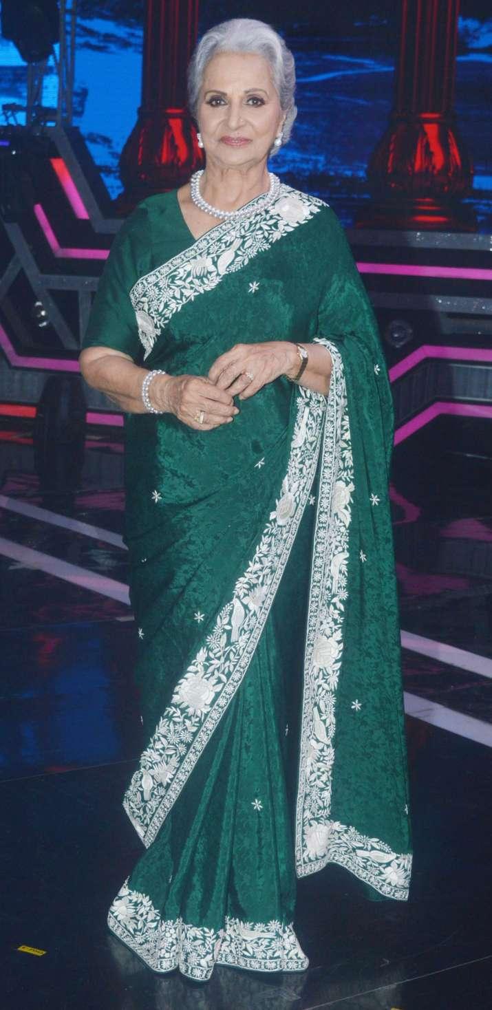 Asha Parekh, waheeda rehman, shilpa shetty