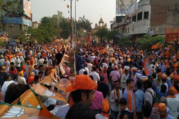 PM Modi's Varanasi Mega Road Show pictures