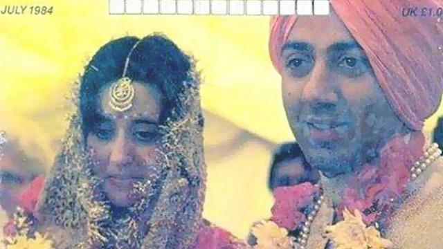 Sunny Deol and puja