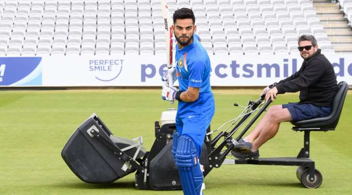 Before the World Cup 2019 Madam Tussaud unveiled Virat Kohli's wax statue at Lords