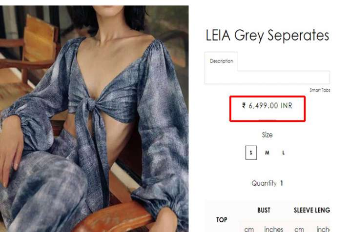 LEIA Smoky Seperates