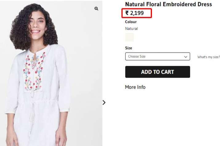 Sara Ali khan dress, global desi