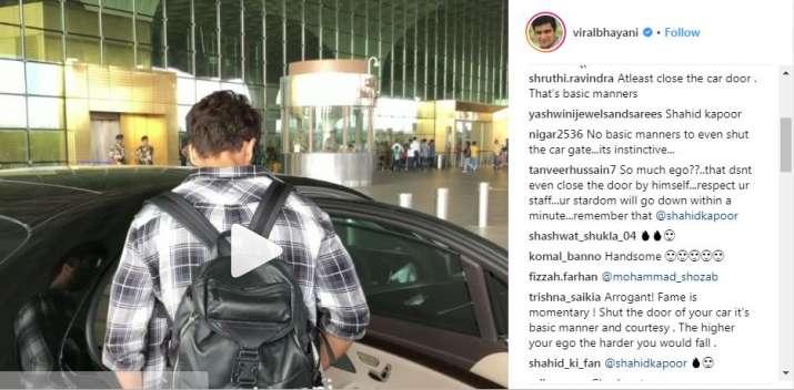 Screenshot of viral video