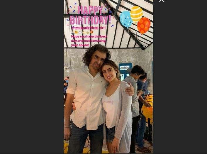 Sara Ali Khan's Instagram Story